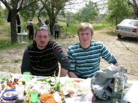 Видеоператор Садохов А. и UR5ZRL