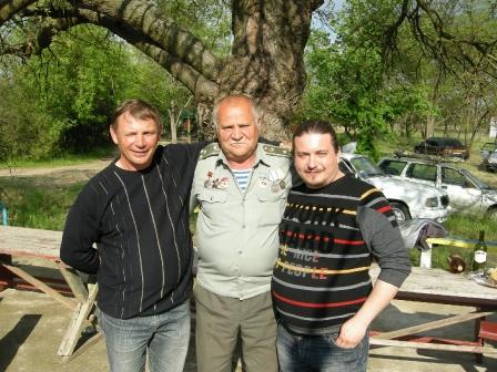 US0ZZ, UR5ZQO и видеооператор Садохов А.
