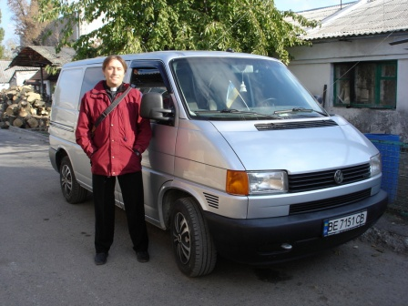 транспорт Клуба UR5ZHZ
