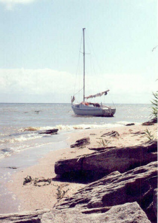Речная яхта