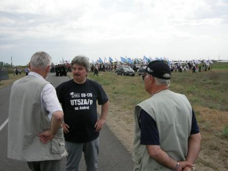 Встреча с парадом